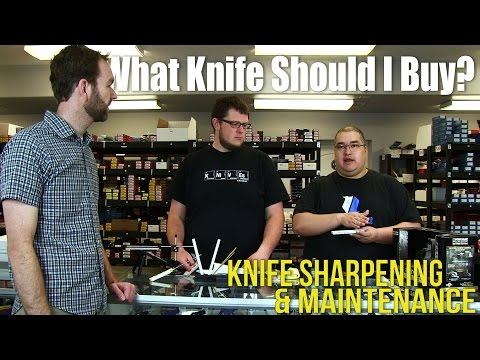 Knife Sharpening & Maintenance