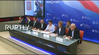 LIVE: International experts hold press conference following local elections in Russia ORI