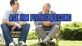 Ask Her Father 4 His Blessing (Father Hands over Daughter to Godly Bro)
