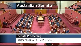 2019 Election of the President of the Senate