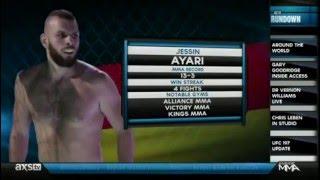 Jessin Ayari on Inside MMA
