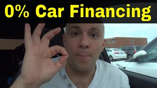 The SAD TRUTH About 0% Car Financing