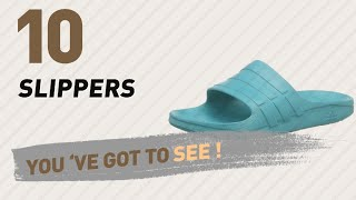 Slippers, Top 10 Collection // Men's Shoes, UK 2017
