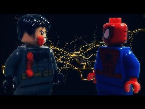 Lego Batman VS Spider-man (видео)