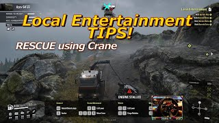 How to Local Entertainment MISSION SNOWRUNNER P2 ASMR Driving Realistic OFFROAD SIMULATOR 1440p pc
