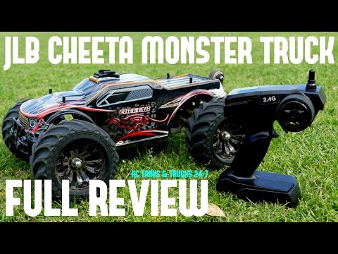 JLB CHEETAH RC BRUSHLESS MONSTER TRUCK REVIEW – Affordable Super Fast Wheelie Monster!