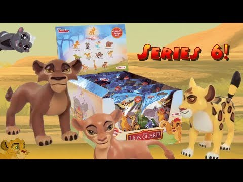 Lion Guard Series 6 Blind Bag Figures - Including Zira!