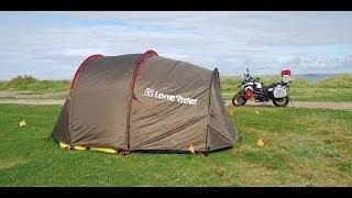 Motorrad-Tour Norwegen - Lone Rider Mototent (Zelt für Motorrad-Reisen - Review)