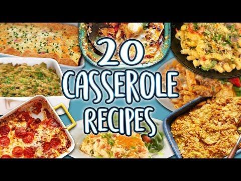 20 Casserole Recipes   Easy Casseroles Recipe Compilation   Well Done