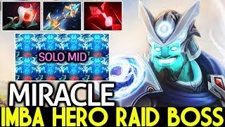 Miracle- [Storm Spirit] Imba Hero Raid Boss Mid Destroy Pub Game 7.21 Dota 2
