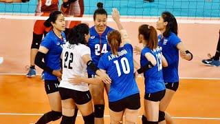 ไทย vs อินโดนีเซีย วอลเลย์บอลหญิงทีมชาติไทย Sea Game 2019 ฟิลิปปินส์ (3-12-2019) Set 1