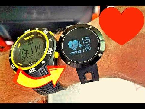 Точное ДАВЛЕНИЕ покажут Умные Часы DM58 защита IP68 постоянный замер пульса и артериального давления