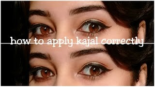 Image for video on HOW TO: Apply Kohl/Kajal the CORRECT WAY | MY FIRST VIDEO by SwatzParadise