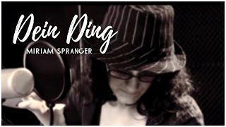 Dein Ding - Annett Louisan - Cover [Miriam Spranger]