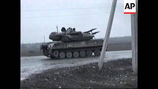 RUSSIA: CHECHNYA: CHECHENS SHOOT DOWN RUSSIAN JET FIGHTER