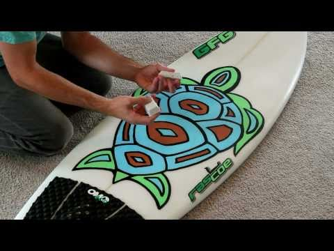 How to Wax a Surfboard Perfectly in a Few Minutes