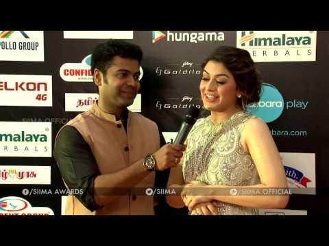 SIIMA Awards 2018 - Dubai   Red Carpet with Vikram   Viu