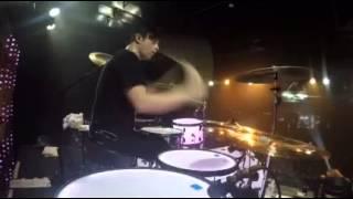 Guilotine IV-Falling In Reverse Live Drum POV