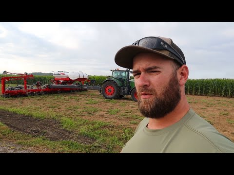We're PLANTING CORN in August | AGCO Crop tour