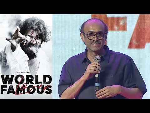 Suresh Babu at World Famous Lover Pre Release Event