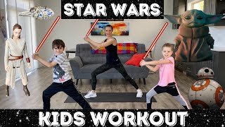 Kids Workout - Star Wars Workout / Jedi Training