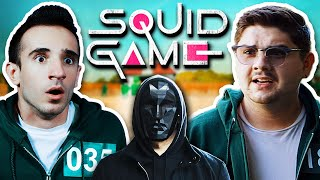 SQUID GAME AT MY HOUSE!