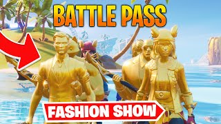 *BATTLE PASS* Fortnite Fashion Show! DOPE Skin Competition! Best DRIP & COMBO WINS!