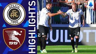 Spezia 2-1 Salernitana Pekan 8