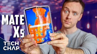 Huawei Mate XS Hands On Review - The Best FOLDING Phone?