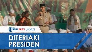Video Anies Baswedan Diteriaki 'Presiden' oleh Massa Aksi saat Sambutan Reuni 212, Lihat Reaksinya