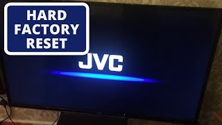 How do Reset JVC Smart TV to Factory Settings || Hard Reset a JVC TV -- Easy Troubleshooting Guide