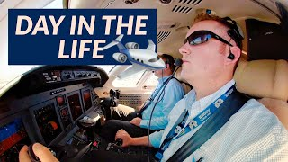 Private Jet Pilot-Day in the life