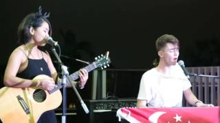 Back On The Wall - Greyson Chance & Inch Chua @ A Rooftop Affair