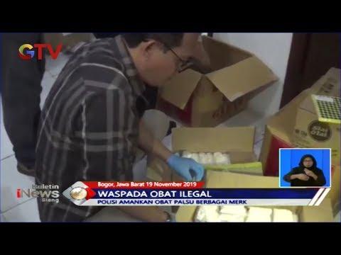 Rumah Industri Obat Palsu di Bogor Digerebek Polisi - BIS 20/11