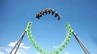 10 MOST INSANE Roller Coasters YOU WON'T BELIEVE EXIST!