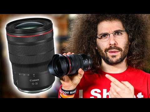 External Review Video _woOS0H3aQI for Canon RF 15-35mm F2.8L IS USM Lens