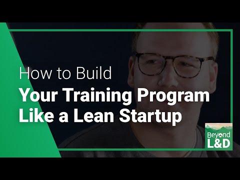 Aislinn Malszecki: How to Build Your Training Program Like a Lean ...
