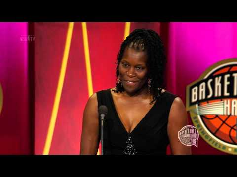 Katrina McClaine's Basketball Hall of Fame Enshrinement Speech