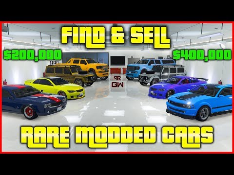 How To Find & Sell Top RARE Modded Cars In GTA Online 2019 (Spawn Locations) Make Money FAST & EASY