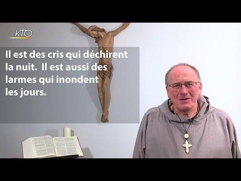 """""""Un cri qui se tait, des larmes qui parlent"""" : Méditation du Père Nicolas Buttet"""