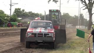 Tobacco City Truck Pullers. Footville,Wi