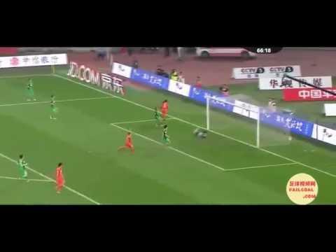 Veja gols e lances do Vagner Love jogando pelo Shandong Luneng
