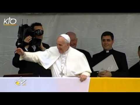 Varginha : Le Pape François à la rencontre des habitants