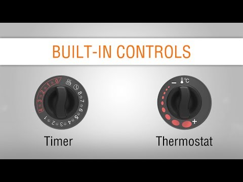 Built-in Control for heaters