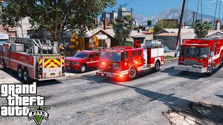 lsfd fire engine gta v - Free Online Videos Best Movies TV shows