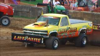 Super Stock 4x4 Truck | Pro Modified 4WD Truck Pull Waynesburg