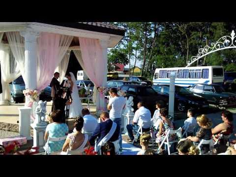 Олеся Лазар - ведуча весільних церемоній, відео 1