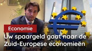 Door dit totaal onrechtvaardige ECB-beleid verdwijnt uw spaargeld