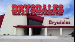 October 2012 ad for Drysdales
