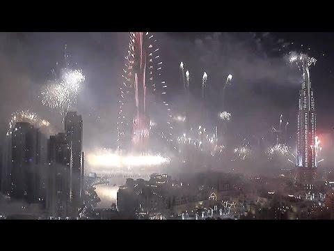 חגיגות הענק של השנה החדשה בדובאי